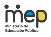 Logo del MEP